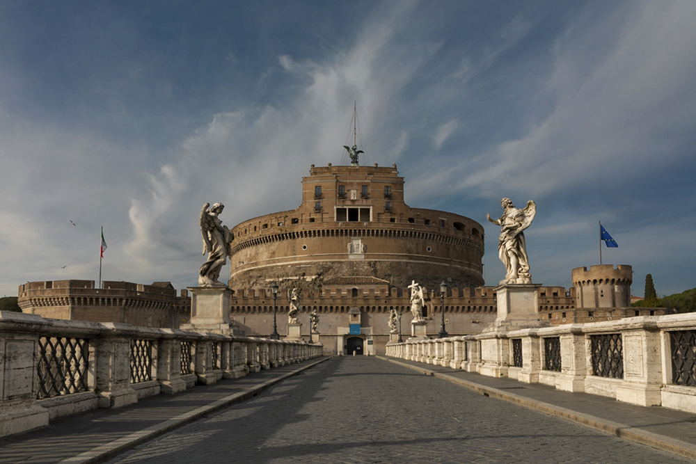 Love for Rome at the time of the covid